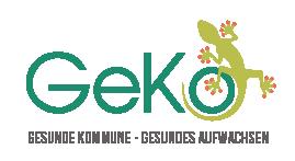 Logo GeKo - Gesunde Kommunen Gesundes Aufwachsen